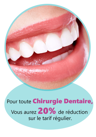 promotion chirurgie dentaire tunisie